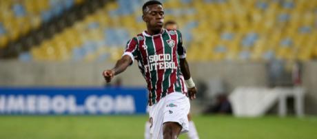 Recuperado de cirurgia, Marquinhos Calazans está perto de retorno no Fluminense (Foto: Reprodução/Net Flu)