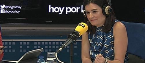 Carmen Montón, este martes en la Cadena Ser. / TWITTER