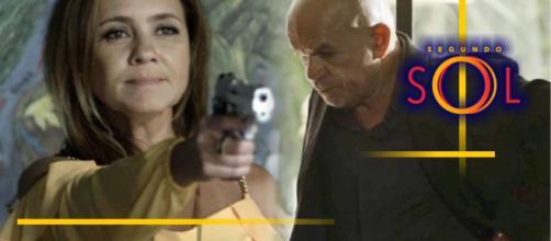 Galdino será assassinado pela cafetina, na novela Segundo Sol