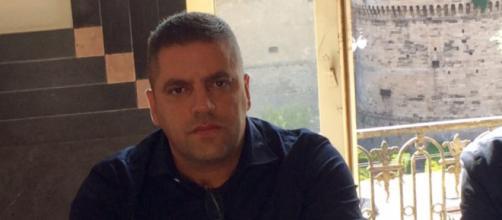 Massimo Battista, consigliere comunale di Taranto che ha lasciato il M5S