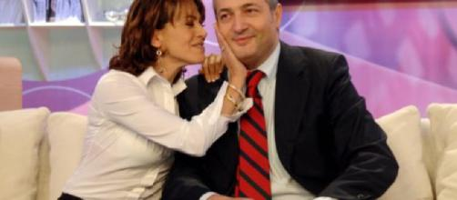Barbara D'Urso e Claudio Brachino