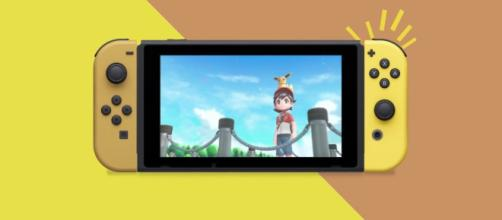 Nintendo announced Pokemon: Let's Go themed Switch. [image Credit: Nintendo UK/YouTube screenshot]