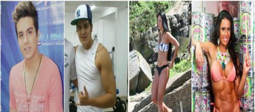 Os famosos que transformaram seu corpo ao ir para a academia. (Foto: Reprodução Internet)