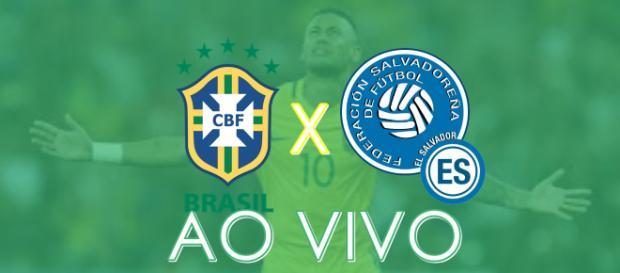 Brasil x El Salvador: acompanhe ao vivo