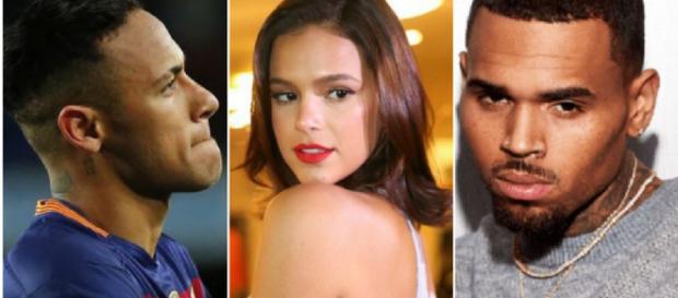 Justin Bieber, Selena Gomez e The Weeknd. (Foto/Reprodução via Google).