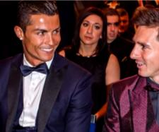 Cristiano e Messi [Imagem via YouTube]