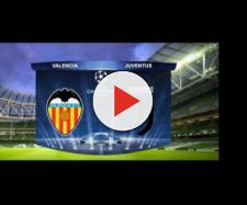 Valencia Juventus diretta tv e streaming
