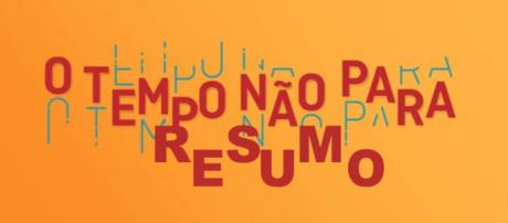 Marocas e Samuca continuam aprontando muito na novela O Tempo Não Para. (Imagem: Reprodução)