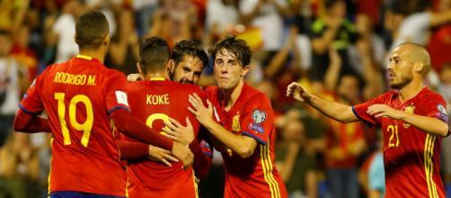 Una Épica España golea a Croacia 6 -0