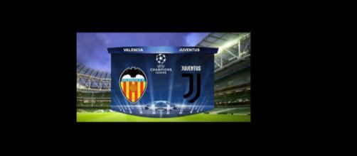 Valencia Juventus diretta tv e streaming