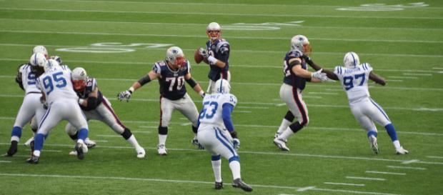 Normally, Tom Brady would rank in the top three for best quarterback. [image source: Jack Newton - Wikimedia Commons]