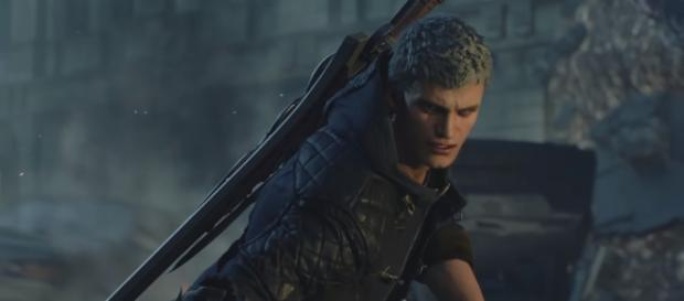 Nero heads to Red Grave City to stop a demonic invasion in 'Devil May Cry 5' [Image Credit: Devil May Cry/YouTube screencap]