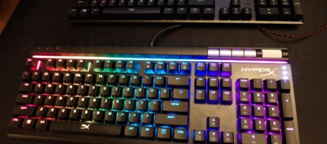 El nuevo teclado de HyperX, Alloy FPS RGB, posee interruptores de velocidad Kailh Silver