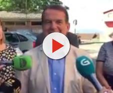 El alcalde de Vigo, Abel Caballero, en el vídeo en cuestión. / TWITTER