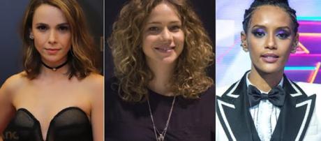 Débora Falabella, Leandra Leal e Taís Araújo.