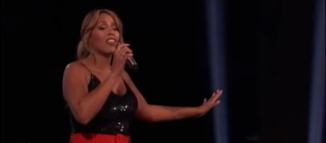 Glennis Grace heard her name loud and clear as a finalist on America's Got Talent this week, [Image source: Talent Recap - YouTube]
