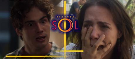 Valentim descobre que Ícaro é o pai do filho que Rosa está esperando