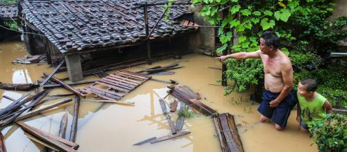 Cina sott'acqua, dopo gli allagamenti da Taiwan arriva anche il tifone Mangkhut.