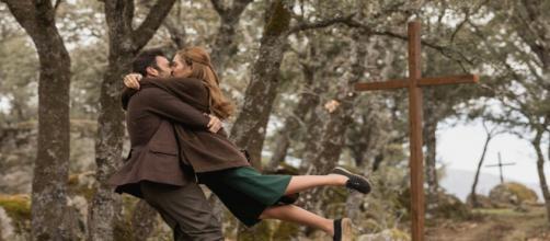Il Segreto: Julieta e Saul fanno l'amore