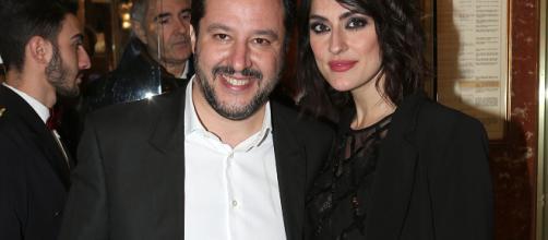 Matteo Salvini ed Elisa Isoardi a Sanremo: Lo vedremo in platea ... - fanpage.it