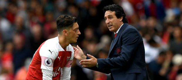 Arsenal: Unai Emery rubbishes Mesut Ozil rift talk | Super Supporter - supersupporter.co.uk