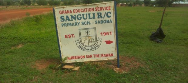 Inadequate infrastructure affecting schools in Ghana - Image credit - Paul Nyojah Own work