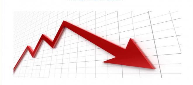 Declive en el mercado de las criptomonedas superando las bajas de puntocom