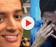 Leo Dias chora ao vivo no 'Fofocalizando'