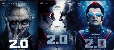 2.0 First Look, Posters Starring Rajinikanth, Akshay Kumar ... - (Image via Dharma Productions/Twitter)