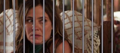 Laureta é presa por tráfico de drogas em Segundo Sol (Foto: TV Globo)