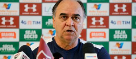 Marcelo Oliveira acredita em bom resultado contra o Atlético-PR e já planeja Sul-Americana (Foto: Lucas Merçon)