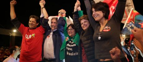PT confirmou Fernando Haddad como candidato a presidente. (foto reprodução)