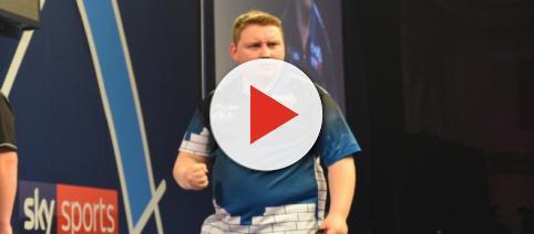 German Darts star Martin Schindler