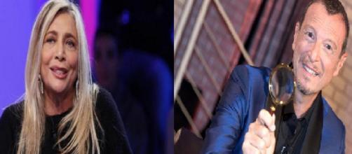 Amadeus ospite alla prima puntata di Domenica in 2018/2019