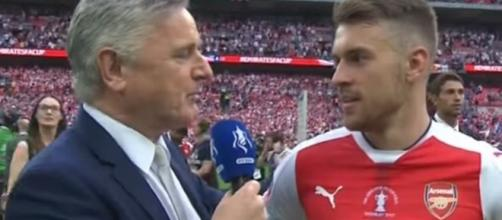 Arsenal midfielder Aaron Ramsey - Image credit - Mrbeanyman | YouTube