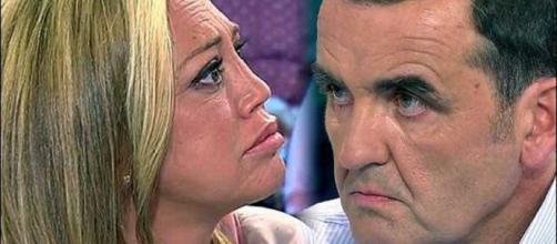 Belén Esteban y Antonio Montero