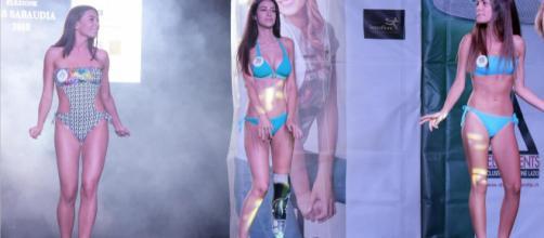 Chiara Bordi participa en Miss Italia sin una pierna