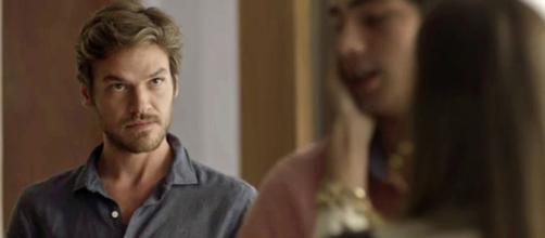 Emilio Dantas como Beto em 'Segundo Sol'.