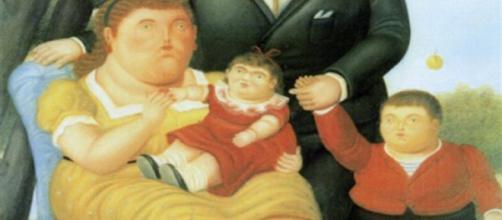 Fernando Botero, Una familia (1989)