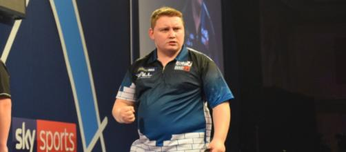 German Darts star Martin Schindler