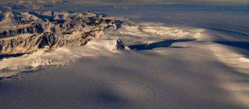 la depressione sul vulcano Öræfajökull