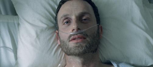 Rick Grimes acordando do coma em The Walking Dead