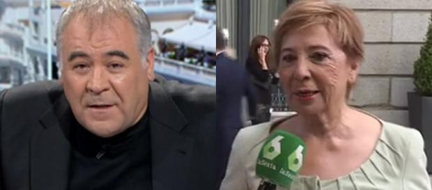 Ferreras y Celia Villalobos en imagen