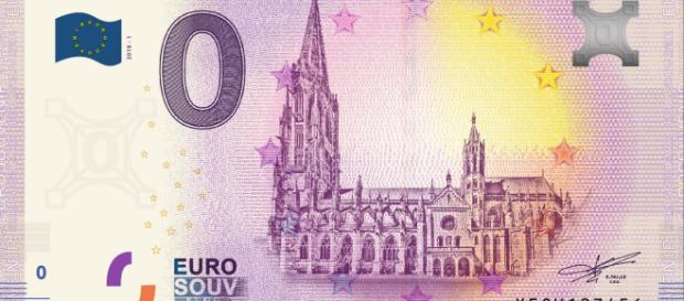 Freiburger Null-Euro-Schein mit dem Münster