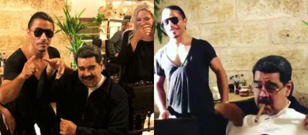 Indignación mundial por la suculenta cena de Nicolás Maduro