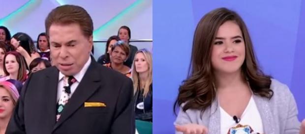 Silvio Santos questiona namoro de Maisa