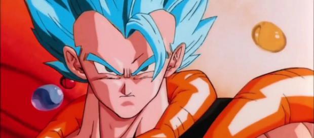 Super Saiyan Blue Gogeta might appear in the upcoming Dragon Ball movie. [image credits: DBZ FAN/YouTube screenshot]