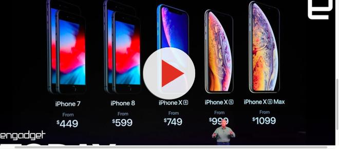 Apple unveils three new upcoming iPhones: XS, XS Max, XR
