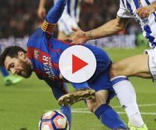 El Barca derrota a la Real 2 goles por 1