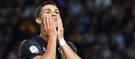 La estrategia de Cristiano para marcar su primer gol en la liga Italiana